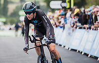 Tiesj Benoot (BEL/DSM)<br /> <br /> Stage 5 (ITT): Time Trial from Changé to Laval Espace Mayenne (27.2km)<br /> 108th Tour de France 2021 (2.UWT)<br /> <br /> ©kramon