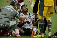 30th May 2021; Maracana Stadium, Rio de Janeiro, Brazil; Brazilian Serie A, Flamengo versus Palmeiras; Rony of Palmeiras is checked for an injury on the pitch