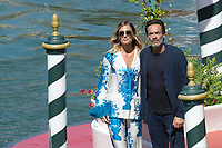 Anthony Delon and Sveva Alviti, 77th Venice Film Festival in Venice, Italy on September 02, 2020. Photo by Ron Crusow/imageSPACE/MediaPunch PUBLICATIONxNOTxINxUSA Copyright: ximageSPACEx <br /> ITALY ONLY