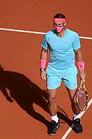 Rafael Nadal (Esp) avec son masque<br /> Parigi 04/10/2020 Roland Garros <br /> Tennis Grande Slam 2020<br /> French Open <br /> Photo JB Autissier / Panoramic / Insidefoto <br /> ITALY ONLY