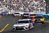 #11: Denny Hamlin, Joe Gibbs Racing, Toyota Camry FedEx Cares