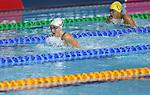 Glasgow 2014 Commonwealth Games<br /> Women's 100m Breaststroke heats<br /> Chloe Tutton (Wales)<br /> Tollcross Swimming Centre<br /> 27.07.14<br /> ©Steve Pope-SPORTINGWALES