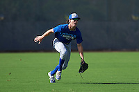 Kansas City Royals Cody Jones (22) during an instructional league intersquad game on October 21, 2015 at the Papago Baseball Facility in Phoenix, Arizona.  (Mike Janes/Four Seam Images)