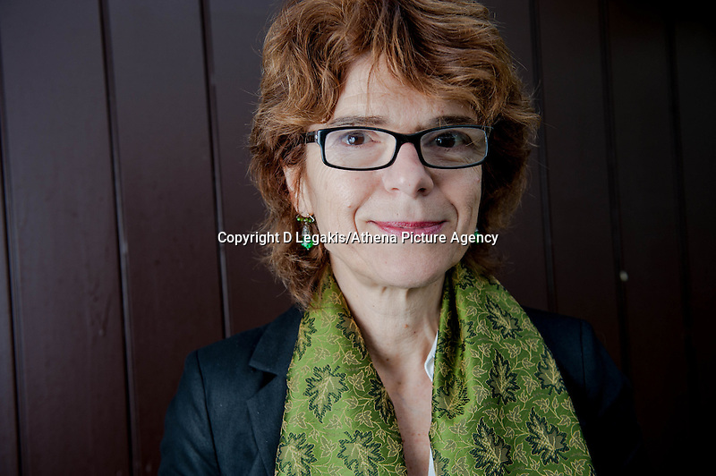 Thursday  29 May 2014, Hay on Wye, UK<br /> Pictured: Vicky Pryce  at the Hay Festival<br /> Re: The Hay Festival, Hay on Wye, Powys, Wales UK.