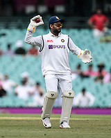 8th January 2021; Sydney Cricket Ground, Sydney, New South Wales, Australia; International Test Cricket, Third Test Day Two, Australia versus India; Wicket keeper Manish Pandey of India