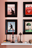 modern artworks and decorations