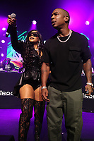 NEW YORK, NY- SEPTEMBER 14: Ashanti and Ja Rule pictured at Fat Joe And Ja Rule Verzuz Battle at The Hulu Theater at Madison Square Garden in New York City on September 14, 2021. Credit: Walik Goshorn/MediaPunch
