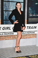 "Rebecca Ferguson<br /> at the premiere of ""The Girl on the Train"", Odeon Leicester Square, London.<br /> <br /> <br /> ©Ash Knotek  D3156  20/09/2016"