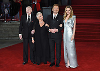"Derek Jacobi, Dame Judi Dench, Kenneth Brannagh and Michelle Pfieffer<br /> at the ""Murder on the Orient Express"" premiere held at the Royal Albert Hall, London<br /> <br /> <br /> ©Ash Knotek  D3344  03/11/2017"