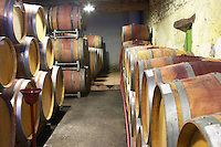 Domaine Jean Louis Denois. Limoux. Languedoc. Barrel cellar. France. Europe.