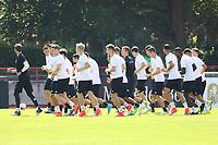 Lauftraining der Nationalmannschaft - 14.06.2017: Training der Deutschen Nationalmannschaft zur Vorbereitung auf den Confed Cup, Sportpark Kelsterbach