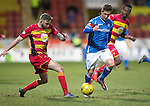 Partick Thistle v St Johnstone…23.02.16   SPFL   Firhill, Glasgow<br />Chris Millar and Christy Elliott<br />Picture by Graeme Hart.<br />Copyright Perthshire Picture Agency<br />Tel: 01738 623350  Mobile: 07990 594431