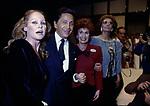 URSULA ANDRESS, VALENTINO GARAVANI, ANNA CRAXI E SOFIA LOREN<br /> SFILATA VALENTINO AL GRAN HOTEL ROMA 1986