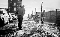 Alex Kirsch (LUX/WB Aqua Protect-Veranclassic) pacing over the rough cobbles<br /> <br /> 50th GP Samyn 2018<br /> Quaregnon > Dour: 200km (BELGIUM)