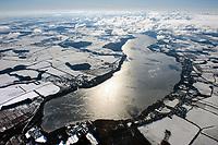 Ratzeburg See im Winter: EUROPA, DEUTSCHLAND, SCHLESWIG- HOLSTEIN 15.03.2013:Ratzeburg See im Winter