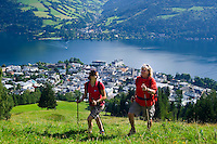 Hiking around Zell am See, Austria