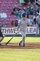 July 7, 2009: Tri-City Dust Devils outfielder Tim Wheeler at-bat during a Northwest League game against the Salem-Keizer Volcanoes at Volcanoes Stadium in Salem, Oregon.