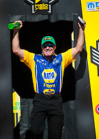 Sep 15, 2019; Mohnton, PA, USA; NHRA funny car driver Ron Capps during the Reading Nationals at Maple Grove Raceway. Mandatory Credit: Mark J. Rebilas-USA TODAY Sports