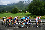 The early breakaway during Stage 20 of the 2019 Tour de France running 59.5km from Albertville to Val Thorens, France. 27th July 2019.<br /> Picture: ASO/Pauline Ballet | Cyclefile<br /> All photos usage must carry mandatory copyright credit (© Cyclefile | ASO/Pauline Ballet)