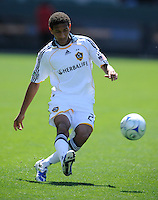 Los Angeles Galaxy's Sean Franklin during a game against D.C. United at the Home Depot Center in Carson, CA on Sunday, March 22, 2009..