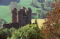 Europe/France/Auvergne/15/Cantal/Tournemire: le Château d'Anjony