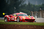DH Racing, #3 Ferrari 488 GT3, driven by Rino Mastronardi, Alex Riberas and Olivier Beretta DH Racing, #3 Ferrari 488 GT3, driven by Rino Mastronardi, Alex Riberas and Olivier Beretta in action during Asian LMS Qualifying (GT, GT Cup) of the 2016-2017 Asian Le Mans Series Round 1 at Zhuhai Circuit on 29 October 2016, Zhuhai, China.  Photo by Marcio Machado / Power Sport Images