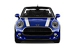 Car photography straight front view of a 2018 Mini Mini Chilli 2 Door Convertible