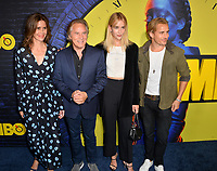 """LOS ANGELES, USA. October 15, 2019: Don Johnson, Kelley Phleger, Grace Johnson & Jesse Johnson at the premiere of HBO's """"Watchmen"""" at the Cinerama Dome, Hollywood.<br /> Picture: Paul Smith/Featureflash"""