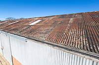 Farm storage building roof