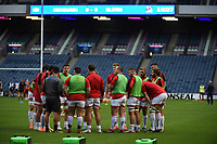 Saturday 5th September 2020 | PRO14 Semi-Final<br /> <br /> Ulster warming-up before the Guinness PRO14 Semi-Final between Edinburgh and Ulster at the BT Murrayfield Stadium Edinburgh, Scotland. Photo by David Gibson / Dicksondigital