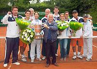 7-6-09, Amersfoort, Tennis, playoffs competitie,  Team Leimonias kampioen