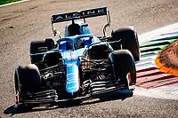 12th September, September 2021; Nationale di Monza, Monza, Italy; FIA Formula 1 Grand Prix of Italy, 14 Fernando Alonso ESP, Alpine F1 Team, F1 Grand Prix of Italy at Autodromo Nazionale Monza