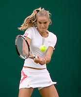 3-7-2007, tennis, Wimbledon, Juniorentoernooi, Arantxa Rus