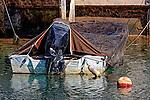 Moored Motorboat, Balboa, CA
