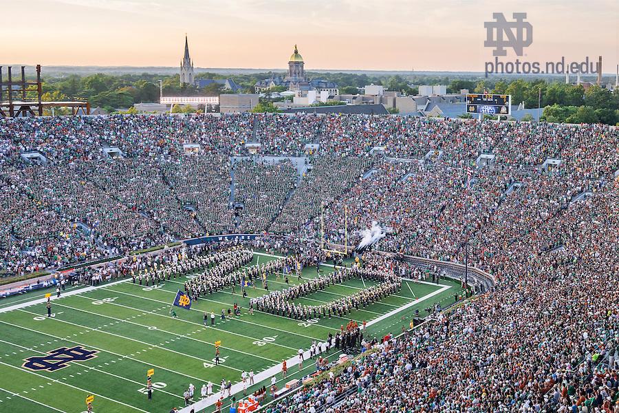 Sept. 5, 2015; Notre Dame vs Texas (Photo by Matt Cashore/University of Notre Dame)