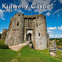 Medieval Kidwelly Castle Wales - Pictures Images Photos