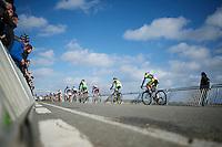 start of the U23 race<br /> <br /> 2014 Noordzeecross<br /> U23