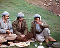 Iraq 1979 .In Nawzang from left to right, Azad Sagerma, Arslan Baez , free from jail and Dara Sheikh Nouri.<br /> Irak 1979.A Nawzang de gauche a droite, Azad Sagerma, Arslan Baez, libere de prison et dara Sheikh Nouri