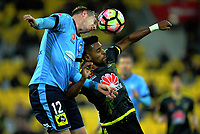 170408 A-League Football - Wellington Phoenix v Sydney FC