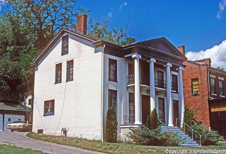 Galena: Greek Revival House. Photo '77.