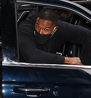 NEW YORK, NY - MAY 3: Michael Strahan seen exiting ABC Studios in New York City on May 03, 2021. Credit: RW/MediaPunch