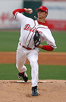 09 May 2006: Starting pitcher Clay Buchholz (11) of the Greenville Drive, the Boston Red Sox affiliate of the Class A South Atlantic League, in a game against the Rome Braves. (Tom Priddy/Four Seam Images)