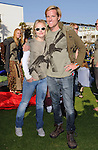 """Kristen Bell & Jason Russell  at The Invisible Children's """"THE RESCUE"""" Rally at City Hall in Santa Monica, California on April 25,2009                                                                     Copyright 2009 DVS / RockinExposures"""
