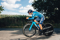 6th October 2021 Womens Cycling Tour, Stage 3. Individual Time Trial; Atherstone to Atherstone. Jelena Eric.