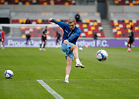 17th October 2020; Brentford Community Stadium, London, England; English Football League Championship Football, Brentford FC versus Coventry City; Jamie Allen of Coventry City during shooting practise