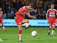 KV Kortrijk - KRC Genk : Elohim Rolland <br /> Foto VDB / Bart Vandenbroucke