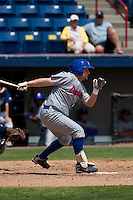 April 11th 2010: Ryne White of the Daytona Cubs, the Florida State League High-A affiliate of the Chicago Cubs. In a game against the of the  Brevard County Manatees, the Florida State League High-A affiliate of the Milwaukee Brewers at Space Coast Stadium in Viera, FL (Photo By Scott Jontes/Four Seam Images)