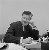ARCHIVE - Le ministre de l'education Paul Gerin-Lajoie,  11janvier  1968,<br /> Quebec.<br /> <br /> PHOTO :  AQP -  Photo Moderne