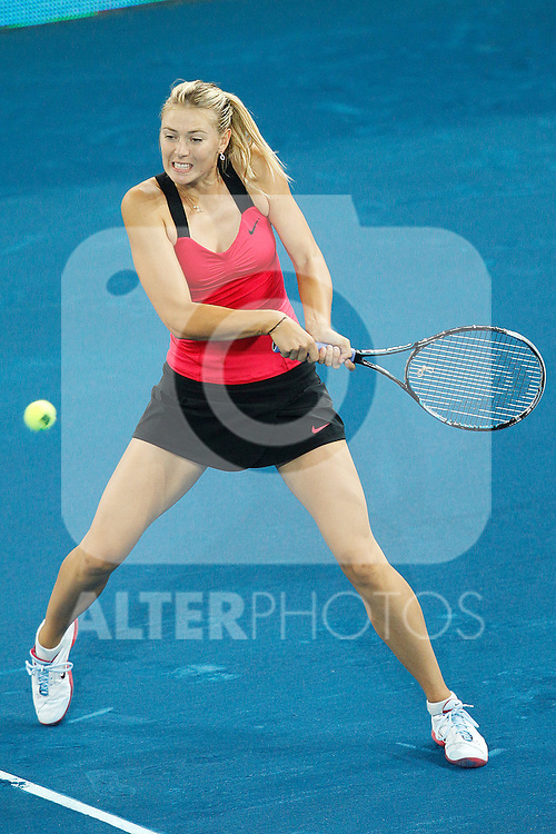 Maria Sharapova during Mutua Madrid Open 2012 match on may 8th 2012...Photo: Cesar Cebolla / ALFAQUI