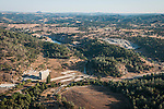 Ruins and quarry of the Calavaras Cement Company near San Andreas, Calaveras County, Calif.